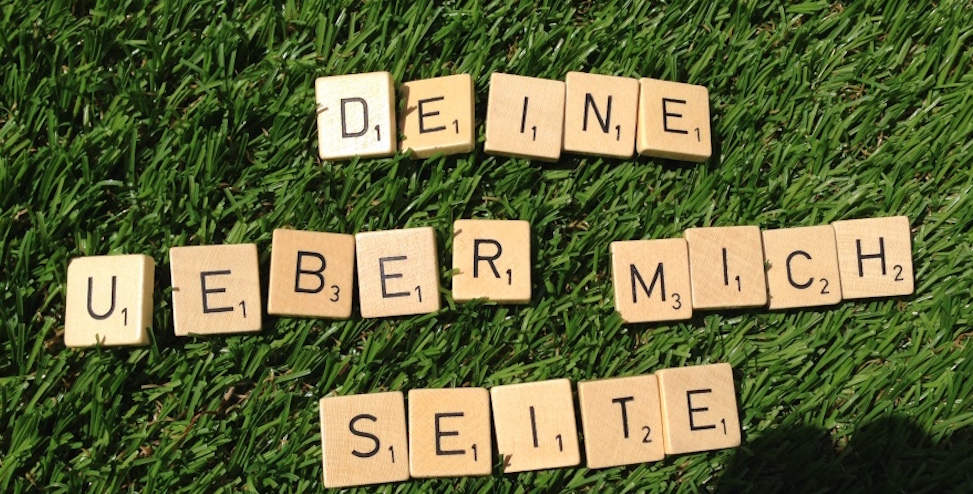 """überzeugende """"Über-mich-Seite"""" textgarten.ch"""